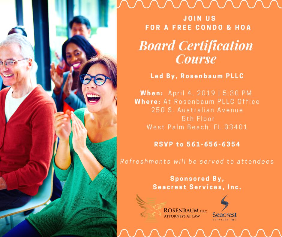 Board Cert Invite