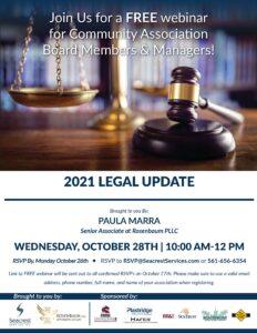 Legal Update 2021